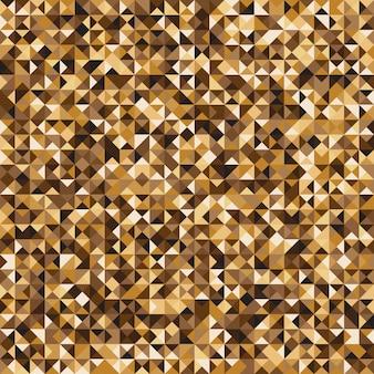 Fundo de padrão de verificação de mosaico amarelo pixelated