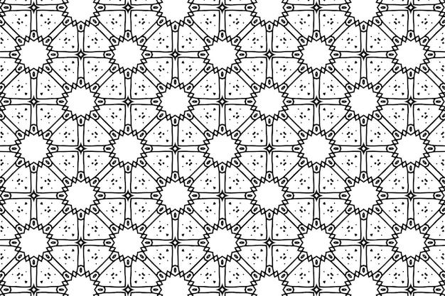 Fundo de padrão geométrico abstrato sem emenda