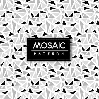 Fundo de padrão sem emenda de mosaico colorido