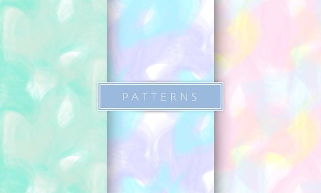 Fundo de padrões de algodão