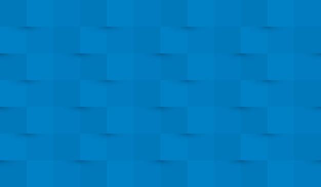 Fundo de papel abstrato com e sombras em cores azuis claras