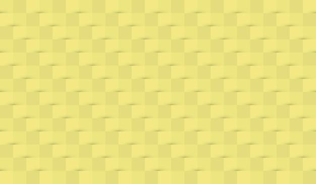 Fundo de papel abstrato com sombras em cores amarelas