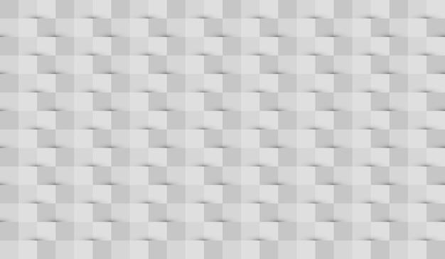 Fundo de papel abstrato com sombras nas cores branco e cinza