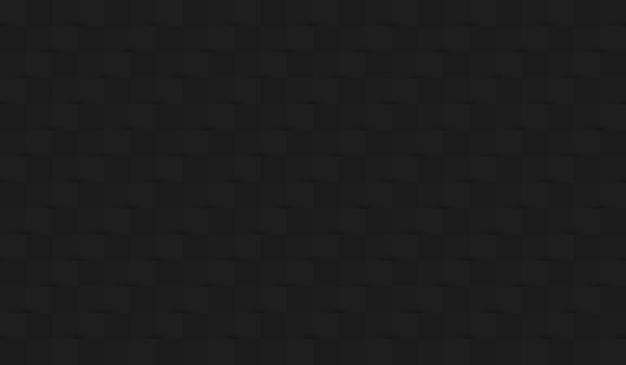 Fundo de papel abstrato com sombras nas cores preto e cinza