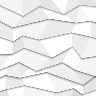 Fundo de papel branco 3d