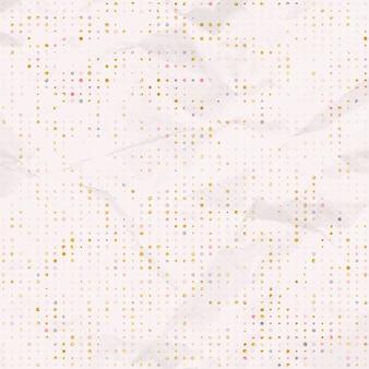 Fundo de papel com teste padrão de bolinhas.