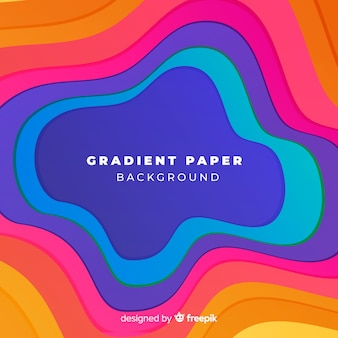 Fundo de papel gradiente