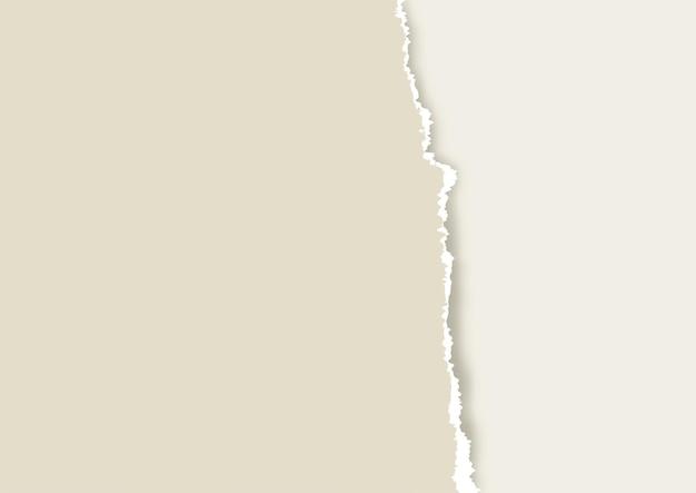 Fundo de papel rasgado velho em cor pastel