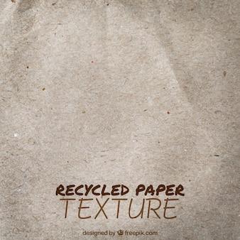 Fundo de papel reciclado