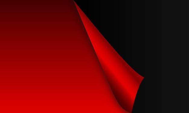 Fundo de papel vermelho realista. padrão para anúncio, livretos, folhetos.