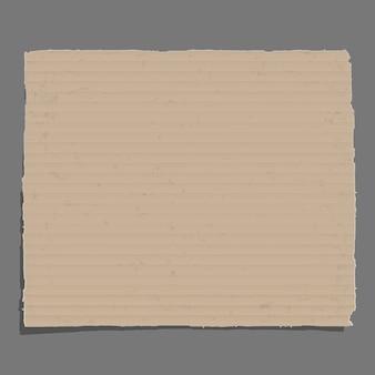 Fundo de papelão antigo