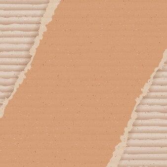 Fundo de papelão ondulado. papel de parede de papelão rasgado.