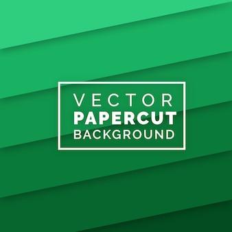 Fundo de papercut moderno vetor