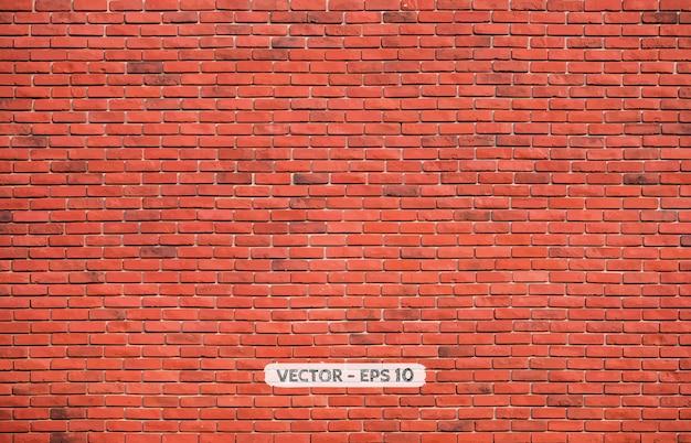 Fundo de parede de tijolo de bloco marrom vermelho