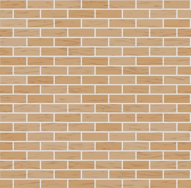 Fundo de parede de tijolo de vetor