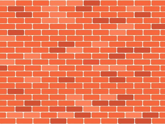 Fundo de parede de tijolo vermelho