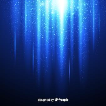 Fundo de partículas brilhantes