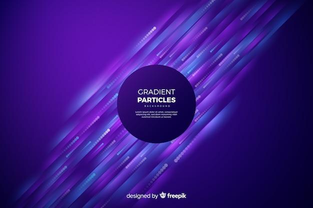 Fundo de partículas de gradiente