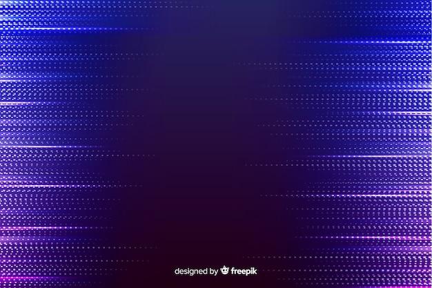 Fundo de partículas gradiente bue