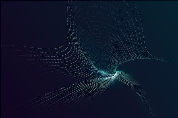 Fundo de partículas gradiente