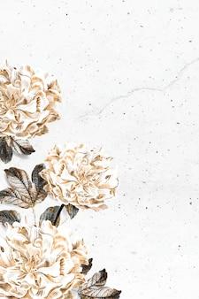 Fundo de peônia floral
