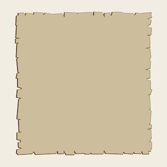 Fundo de pergaminho marrom vintage vector