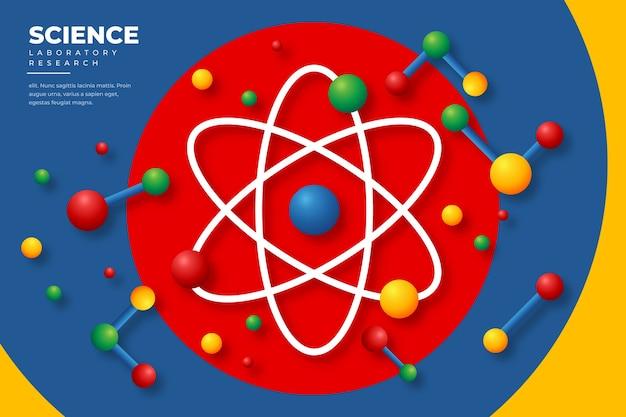 Fundo de pesquisa de laboratório de ciências