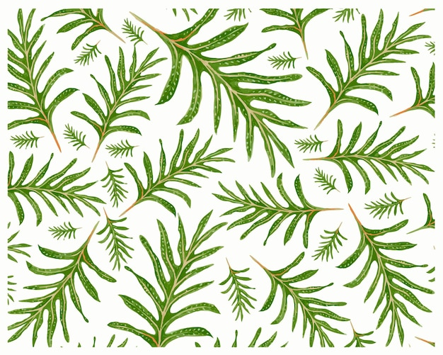 Fundo de phymatosorus scolopendria ou monarch ferns