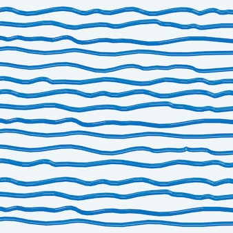 Fundo de pincel abstrato azul Vetor grátis