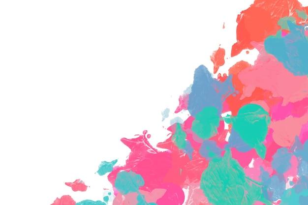 Fundo de pintura abstrato colorido