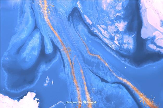 Fundo de pintura de mármore