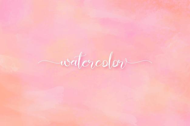 Fundo de pintura romântica bonita