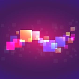 Fundo de pixel colorido