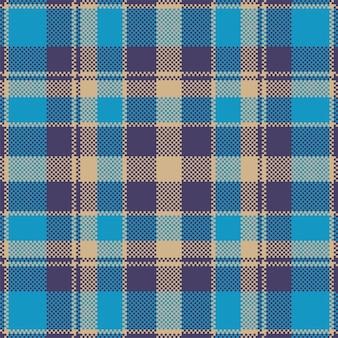 Fundo de pixel. manta moderna padrão sem emenda. . tartan escocês têxtil. ornamento de madras de cor de beleza.
