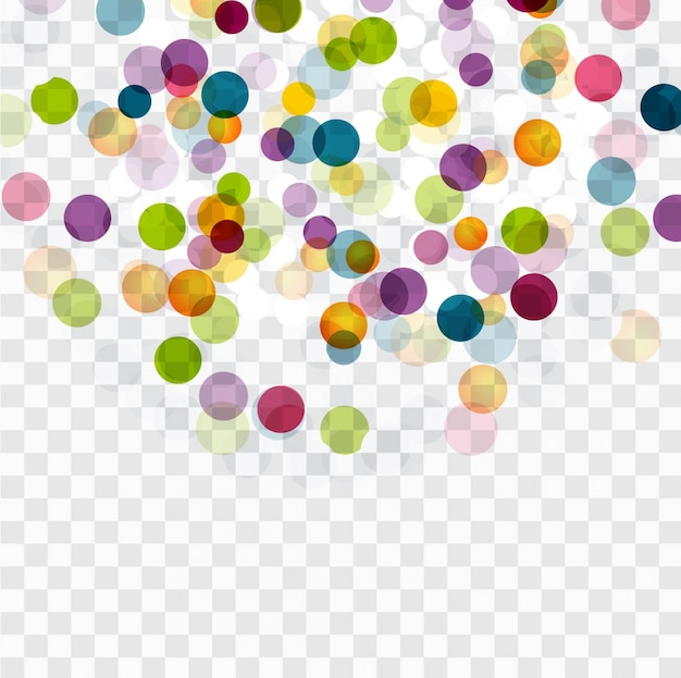 Fundo de pontos coloridos
