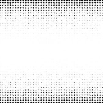 Fundo de pontos de gradiente de meio-tom