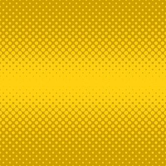 Fundo de pontos de meio-tom amarelo