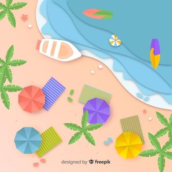 Fundo de praia