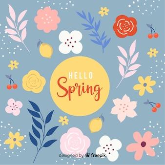 Fundo de primavera