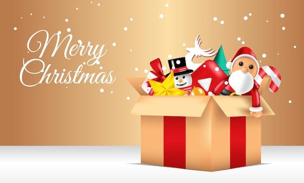 Fundo de produto de venda especial de feliz natal