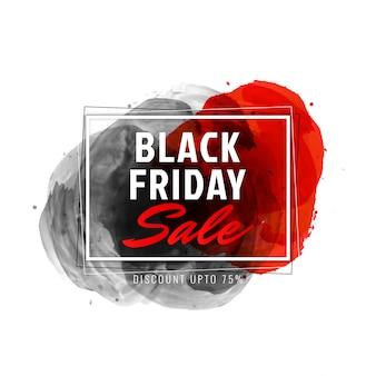 Fundo de promoção de venda sexta-feira negra abstrata