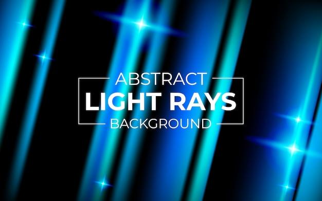 Fundo de raios de luz azul tecnologia abstrata
