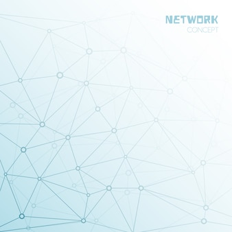 Fundo de rede social ou tecnológica