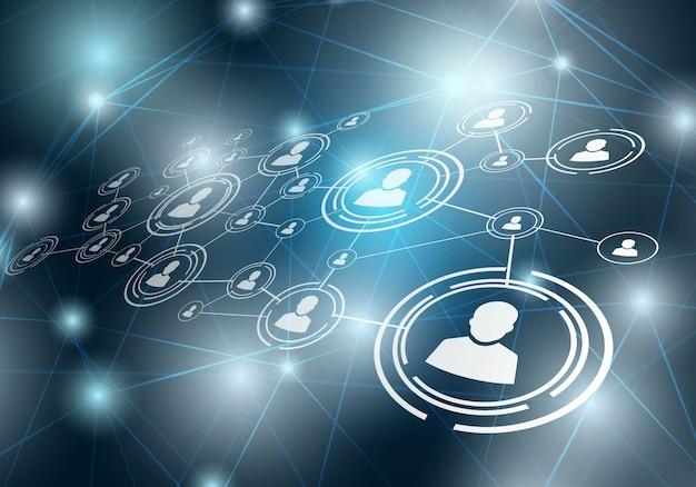 Fundo de rede social