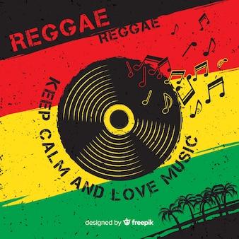 Fundo de reggae