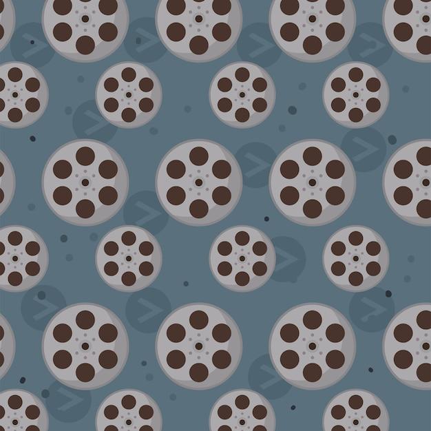 Fundo de rolos de filme