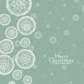 Fundo de saudação elegante festival de feliz natal
