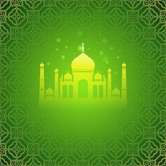 Fundo de saudações do ramadã. ramadan kareem