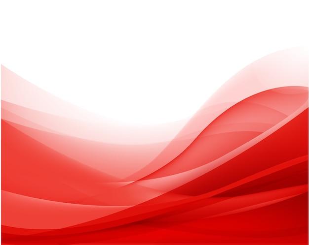 Fundo de seda de fluxo ondulado vermelho abstrato, papel de parede