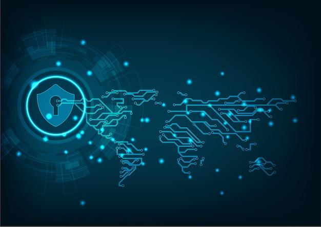 Fundo de segurança cibernética de tecnologia